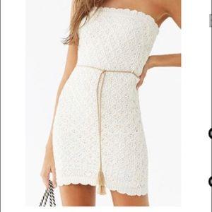 NWT crochet dress